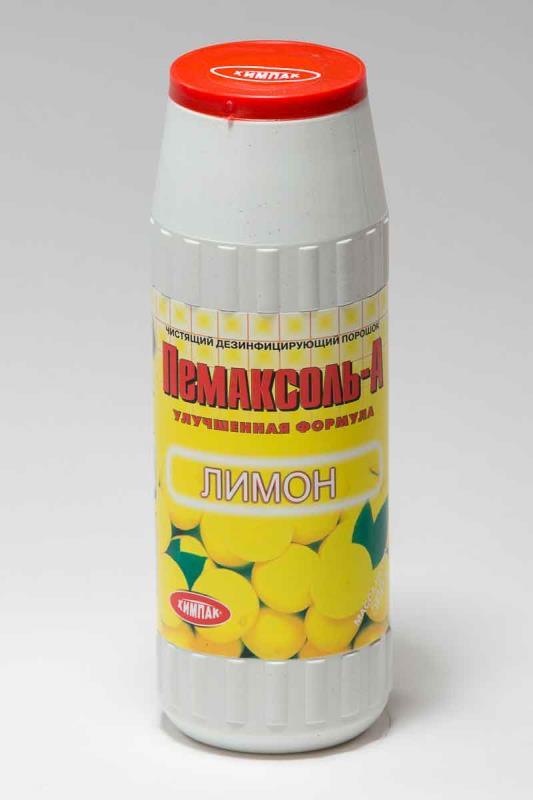 Чистящий порошок ПЕМАКСОЛЬ-А 500 г (лимон, морская свежесть)