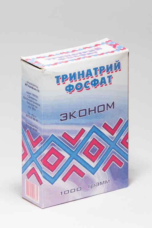 """Порошок """"Тринатрий фосфат"""" Эконом 1000г"""