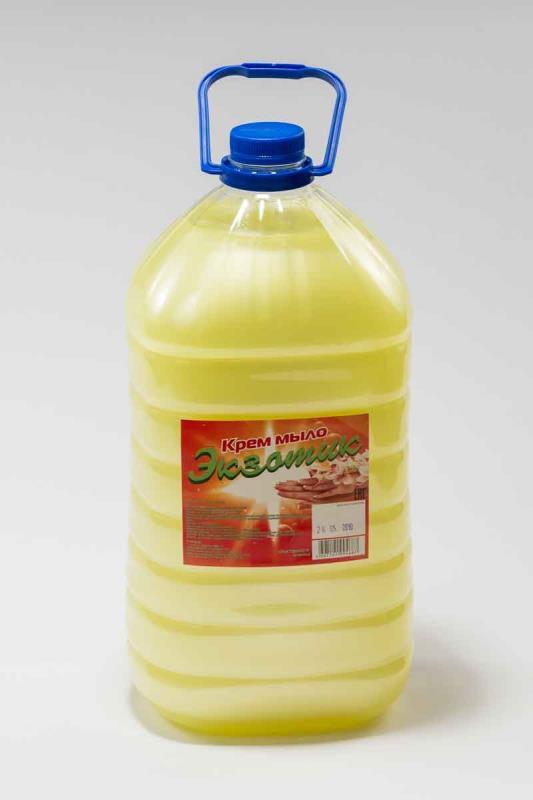 Жидкое крем - мыло «Экзотик»  5л ПЭТ